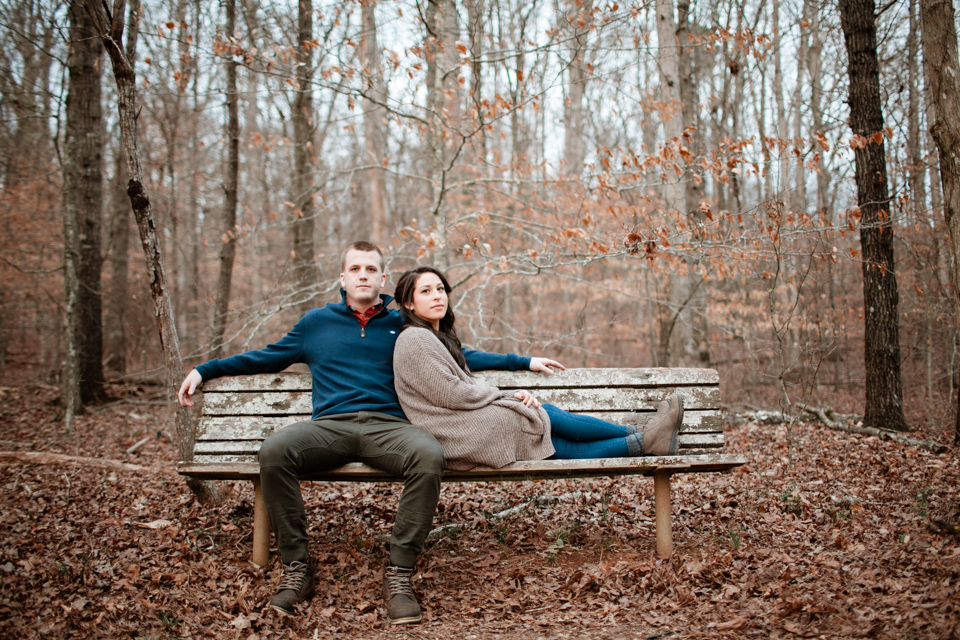 Athens GA Engagement Photos