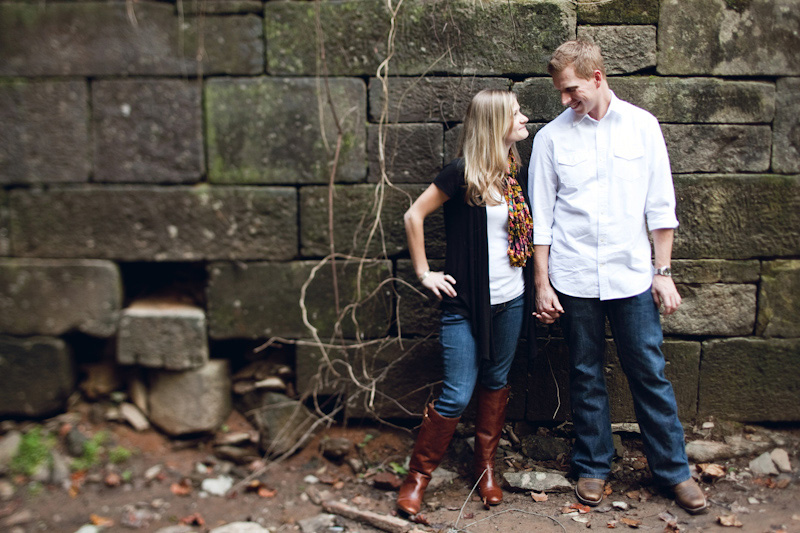 Roswell Mill Engagement Photos